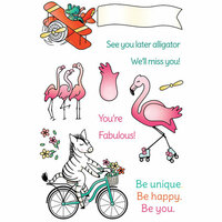 LDRS Creative - Clear Photopolymer Stamps - On The Move