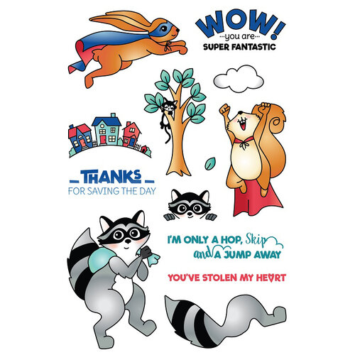 LDRS Creative - Clear Photopolymer Stamps - Super Critters