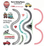 LDRS Creative - Designer Dies and Clear Photopolymer Stamps - Going Places