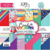 LDRS Creative - Pattern Play - Candy Counter - 12 x 12 Paper Pad