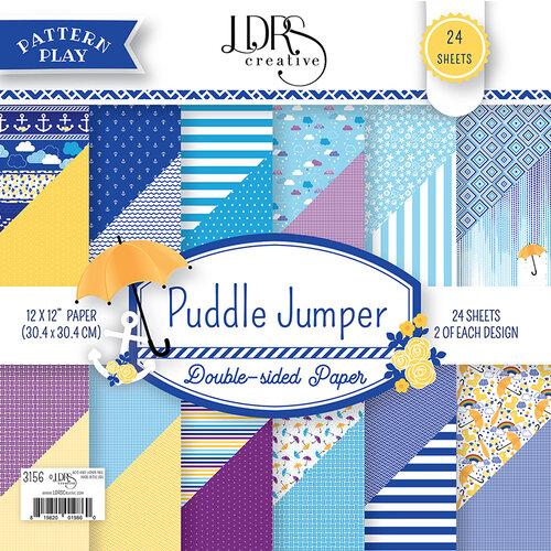 LDRS Creative - 12 x 12 Paper Pack - Puddle Jumper