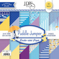 LDRS Creative - 12 x 12 Paper Pack - Puddle Jumper