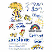LDRS Creative - Clear Photopolymer Stamps - Puddle Jumper