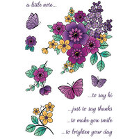 LDRS Creative - Clear Photopolymer Stamps - Country Flowers