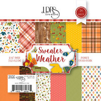 LDRS Creative - 6 x 6 Paper Pack - Sweater Weather