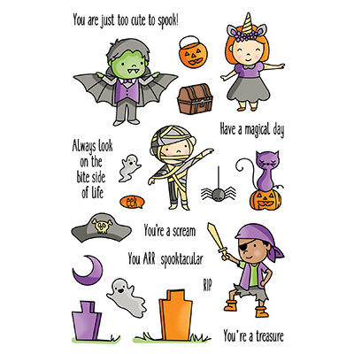 LDRS Creative - Clear Photopolymer Stamps - Halloween High Jinks