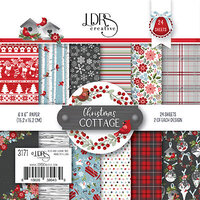 LDRS Creative - 6 x 6 Paper Pack - Christmas Cottage