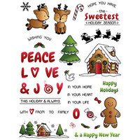 LDRS Creative - Clear Photopolymer Stamps - Candy Cane Lane