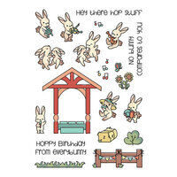 LDRS Creative - Clear Photopolymer Stamps - Bunny Band Pals