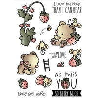 LDRS Creative - Clear Photopolymer Stamps - Strawberry Patch