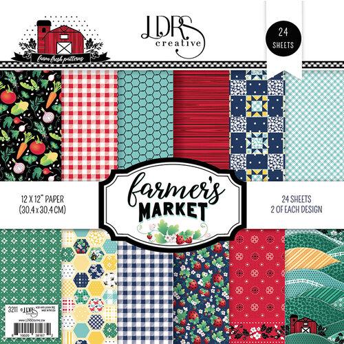 LDRS Creative - 12 x 12 Paper Pack - Farmers Market