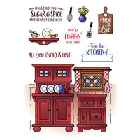 LDRS Creative - Clear Photopolymer Stamps - Country Kitchen Pocket Pusher
