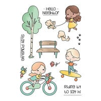 LDRS Creative - Clear Photopolymer Stamps - A Day In The Park