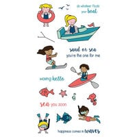 LDRS Creative - Clear Photopolymer Stamps - Float Your Boat