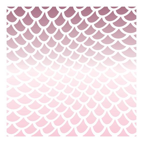 LDRS Creative - 6 x 6 Stencil - Mermaid Shimmer