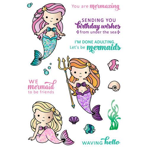 LDRS Creative - Clear Photopolymer Stamps - Mermaid Treasures