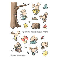 LDRS Creative - Clear Photopolymer Stamps - Mouse Trusted Friend