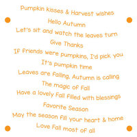LDRS Creative - Clear Photopolymer Stamps - Harvest Wishes