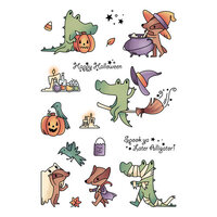 LDRS Creative - Clear Photopolymer Stamps - Halloween - Spook Ya Later Alligator