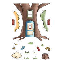 LDRS Creative - Clear Photopolymer Stamps - Country House