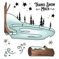 LDRS Creative - Clear Photopolymer Stamps - Ice Valley