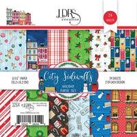 LDRS Creative - 6 x 6 Paper Pack - City Sidewalks