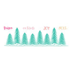 LDRS Creative - Clear Photopolymer Stamps - Pine Tree Forest