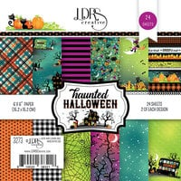 LDRS Creative - 6 x 6 Paper Pack - Haunted Halloween