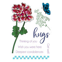 LDRS Creative - Clear Photopolymer Stamps - Pelargonium