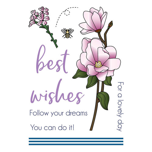 LDRS Creative - Clear Photopolymer Stamps - Magnolia