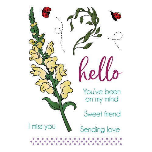 LDRS Creative - Clear Photopolymer Stamps - Snapdragon