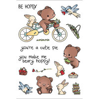 LDRS Creative - Clear Photopolymer Stamps - Beary Hoppy