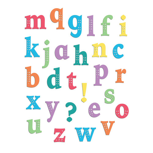 LDRS Creative - Clear Photopolymer Stamps - Chloe Alpha Lowercase