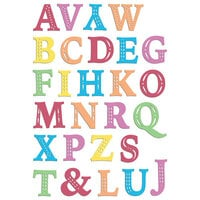 LDRS Creative - Clear Photopolymer Stamps - Chloe Alpha Uppercase