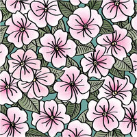 LDRS Creative - Clear Photopolymer Stamps - Impatiens