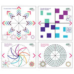 LDRS Creative - Pirouette Collection - Stamping Tool - Pirouette Pattern Templates