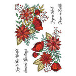 LDRS Creative - Christmas - Clear Photopolymer Stamps - Peace and Joy