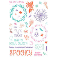 LDRS Creative - Pirouette Collection - Halloween - Clear Photopolymer Stamps - Trick or Treat