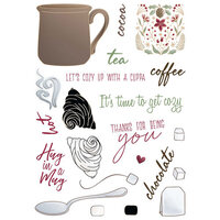 LDRS Creative - Clear Photopolymer Stamps - Cozy Cuppa