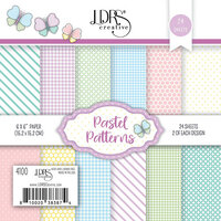 LDRS Creative - 6 x 6 Paper Pad - Pastel Patterns