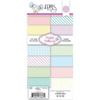 LDRS Creative - 4 x 9 Paper Pad - Pastel Patterns