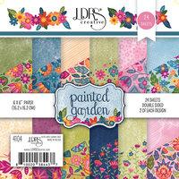 LDRS Creative - 6 x 6 Paper Pad - Painted Garden