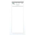 LDRS Creative - 4 x 9 Paper Pad - Slimline - Watercolor - 10 Pack