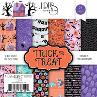LDRS Creative - Halloween - 6 x 6 Paper Pad - Trick or Treat