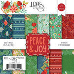 LDRS Creative - Christmas - 6 x 6 Paper Pad - Peace and Joy