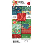 LDRS Creative - Christmas - 4 x 9 Paper Pad - Slimline - Peace and Joy