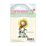 LDRS Creative - CandiBean Collection - Cling Mounted Rubber Stamps - Sunflower Daisy