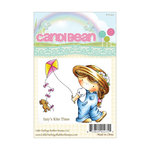 LDRS Creative - CandiBean Collection - Cling Mounted Rubber Stamps - Izzy's Kite Time