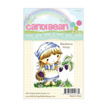 LDRS Creative - CandiBean Collection - Cling Mounted Rubber Stamps - Blackberry Penny