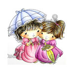 LDRS Creative - CandiBean Collection - Cling Mounted Rubber Stamps - Friendship is the Sweetest